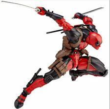 Genuien Amazing Marvel Revoltech DEADPOOL X-Men Action Figure Toy Gift New