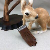 """Laimböck Vintage Miniature Advertising Leather Gloves Laimbock 2 7/8"""""""