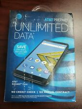 BRAND NEW !!! SEALED PACK !!! AT&T Prepaid Radiant Core Smartphone Android 16GB