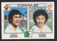 España 82 Hans Muller historia de la Copa Mundial #154 PANINI STICKER C350