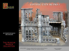 PEGASUS 4930 GOTHIC CITY RUINS 1. PLASTIC. FOR 28MM SCALE FIGURES.