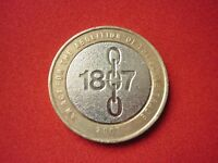 2007 £2  Abolition Of Slave Trade 1807 2 Pound Coin   FREE POST
