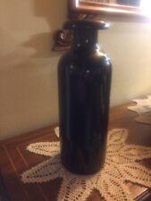 Bottiglia vaso ceramica firmato Pucci Umbertide Perugia 1900 Rometti Baldelli