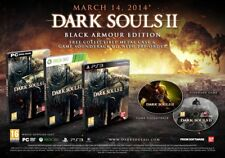 DARK SOULS II 2  BLACK ARMOUR EDITION XBOX 360  NEUF SOUS BLISTER
