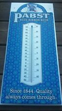 Vintage Pabst Blue Ribbon Beer Thermometer - Nos Pbr Mint Condition