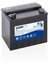 Batterie moto Exide GEL12-30 EXIDE U1 U1R 53030 12V 30AH 180A 197x132x186mm