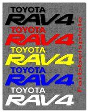 Toyota RAV 4 Logo 2 Aufkleber Decal Sticker Yaris Corolla Avensis Toyo008