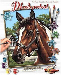 Schipper 609240381 - Malen Nach Zahlen - Pferdeportrait - Neu
