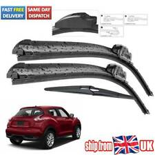 Front Rear Wiper Blades Set For Nissan Juke 2010 2011 2012 2013 2014 2015 2016