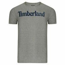 Timberland Mens Seasonal Linear Tee  T Shirt Pullover Grey