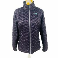 Women's M The North Face Thermoball Lightweight Packable Nylon Purple Jacket