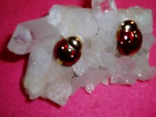 """Adorable JOAN RIVERS Large RED Signature LADY BUG Clip On Earrings  NIB  """"SALE"""""""