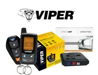Viper 5305V 2 Way Car Alarm Security & Remote Start System w/ Bypass Module