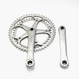 "Vintage Shimano FC-7200 Dura-Ace EX Crankset 170mm w/ 9/16"" x 20 Pedal Adapters"