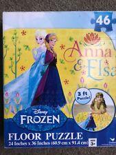 Frozen floor puzzle Anna & Elsa giant large jigsaw 46 pieces Disney