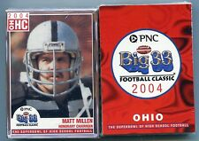 2004 Ohio OH Big 33 FACTORY SEALED Set HIGH SCHOOL Cards Brian Hoyer OHIO STATE