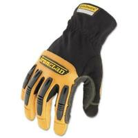 Ironclad RWG205XL Ranchworx Leather Gloves, Black/tan, X-large