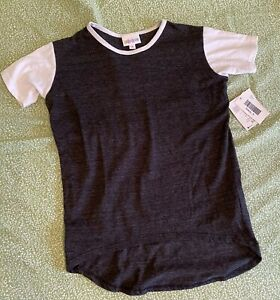 New with Tags LulaRoe Girls Gracie Shirt size 6