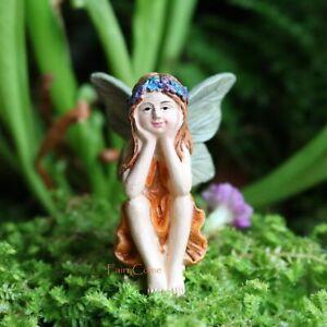 Fairies For Fairy Garden Miniature Figurines Fairy Figure Ornaments Resin Statue