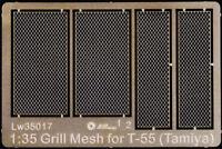 Alliance Model Works 1:35 Grill Mesh for Tamiya T-55 - PE Detail Set #LW35017