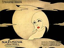 Pubblicità TEATRO Play STADIO SALOME Oscar Wilde nazimova poster stampa lv1161