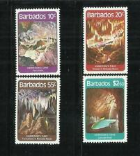 Barbados. year: 1981. theme: caves of Harrison.