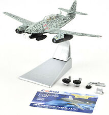 Corgi Messerschmitt ME 262B-1A/U1 - April 1945 1:72 Die-Cast Airplane AA35709