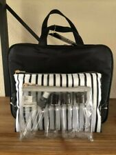 Sonia Kashuk Weekender Bag Set 7 pieces Black *BRAND NEW*
