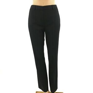 Prada Black Straight Leg Women's Trouser Pant Size 38 | 4 | XS
