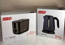 Dash 2 Slice Extra Wide Slot Easy Toaster And Easy Kettle Boil Dry Protection