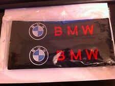 Logotipo bordado del mercado de accesorios BMW Coche Asiento Cinturón Acolchado hombreras