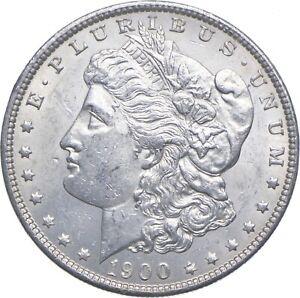 Early - 1900 Morgan Silver Dollar - 90% US Coin *554