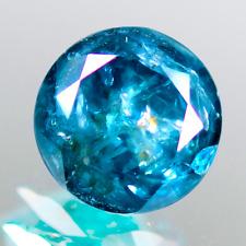 3.84 Cts Brilliant Best Blue Sparking Lusterous  Natural Blue Diamond