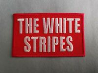 The White Stripes Sew or Iron On Patch