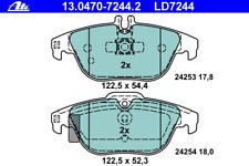 Bremsbelagsatz Scheibenbremse ATE Ceramic - ATE 13.0470-7244.2