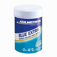 Holmenkol Grip BLUE EXTRA 45g Steigwachs Gripwax Nordic Reibwachs Langlauf
