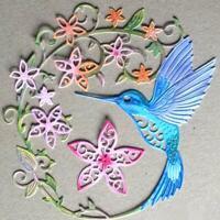 Hummingbird Metal Cutting Dies Craft Scrapbooking Card Making Embossing Die Cut