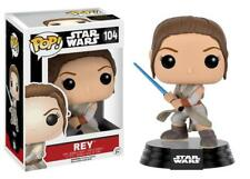"New Pop Star Wars: EP7 - Rey Lightsaber 3.75"" Funko Vinyl Collectible VAULTED"