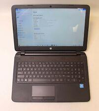"HP 15-F222WM 15.6"" TOUCHSCREEN INTEL PENTIUM N3710 1.60GHz 4GB RAM 500GB HDD"