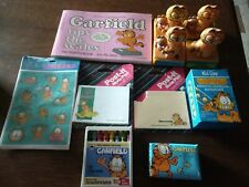 Lot of Garfield the Cat Collectibles