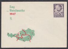 Austria H&G Bx155 mint 1947 40gr Printed to Private Order Envelope, fresh & Vf