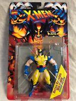 Toy Biz MARVEL X-MEN Invasion Series Battle WOLVERINE ACTION FIGURE NIB 1995