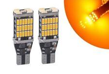 T15 Ampoule LED W16W 45 SMD Orange Veilleuse Canbus pour voiture 12V-24V