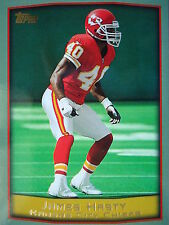 Nfl 128 James Hasty Kansas City Chiefs Topps 1999