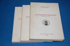 Lectura Dantis Modenese Volume I/II/III Comitato Provinciale Dante Alighieri