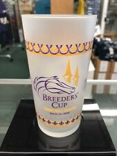 2018 BREEDERS CUP FROSTED GLASS - ONLY 9000 MADE LIMITED EDTION- 4 PACK