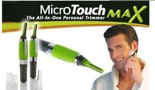 Micro Touch Max Personal Hair Trimmer Clipper Shaver with LED