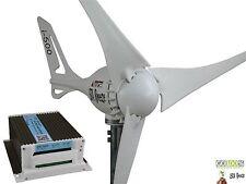 Kit Wind Turbine +Hybrid charge controller 12V/500W white,Generator iSTA Breeze®