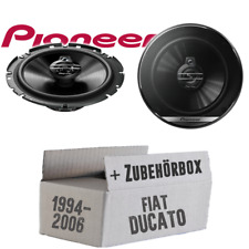 Pioneer Speakers for Fiat Ducato 230 244 Car Front Door Coax Installation Kit