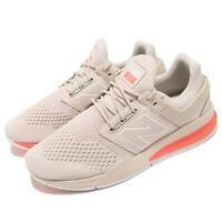 New Balance MS247TN D Beige Orange Men Running Casual Shoes Sneakers MS247TND
